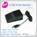 Pedal footswitch Usb teclado programable